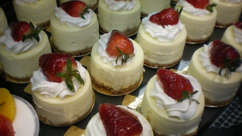 strawberry-cheesecakes