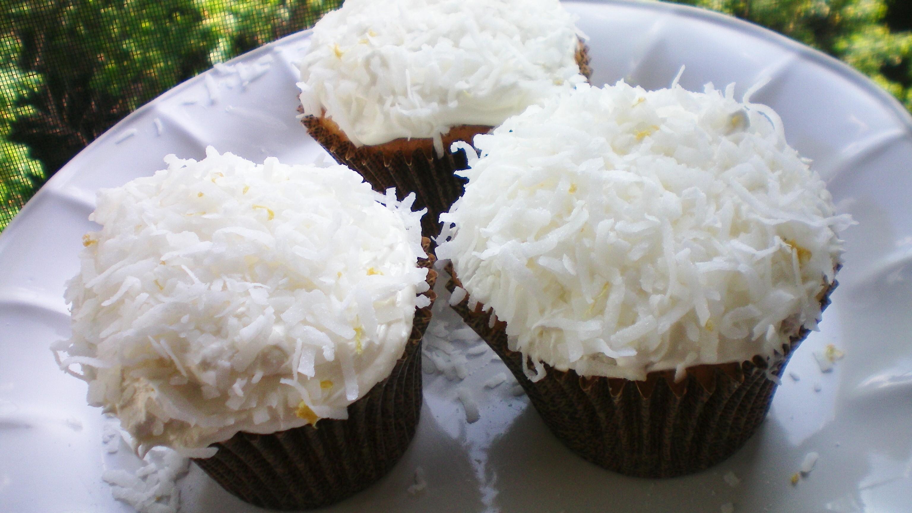 Coconut Cupcakes Recipes — Dishmaps