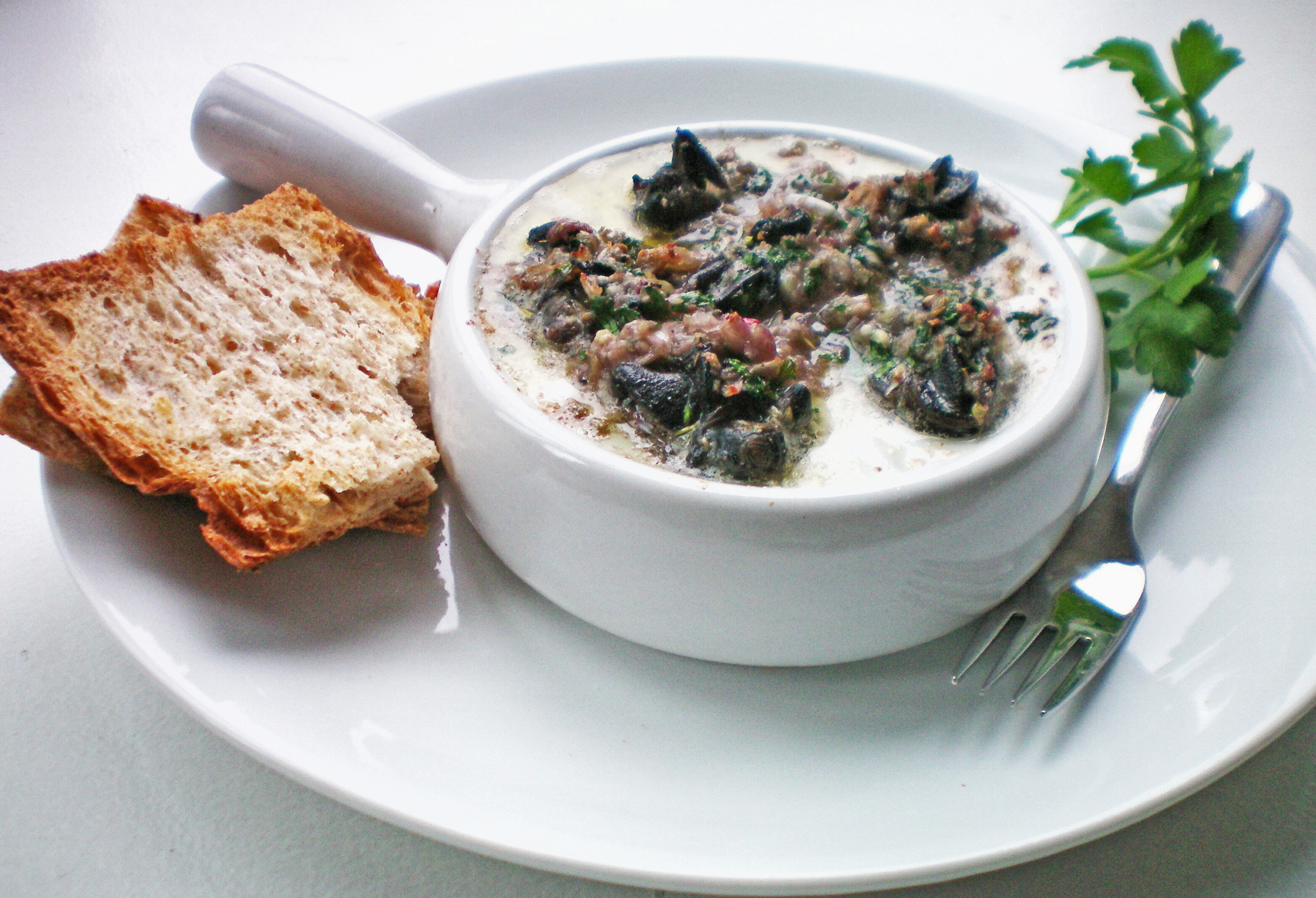 Escargots à la Bourguignonne – Snails with Herb & Garlic ...